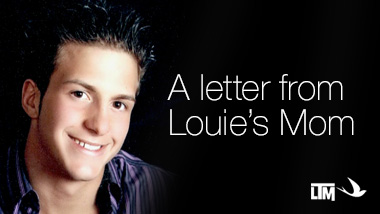 A Letter from Louies Mom